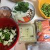 【イクメン親父料理】シャケのクリームソースかけ(オヤジは甘い物に目がない)