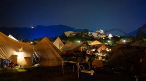 森、道、市場 2019でキャンプしてきたら特に夜景が「映え」な感じだった