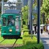 「ぐるっと九州きっぷ」3日間の旅 (11)熊本市街と色とりどり熊本市電