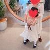 結婚式のキッズワンピースが安くて可愛い話。自作お直しについても。