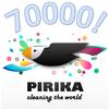ピリカを通じて拾われたゴミの数が70000個を突破しました!!