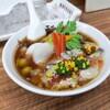 「季節の醤油ラーメン(牡蠣トッピング)」麺や 福座