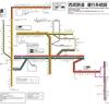 西武鉄道(全線版) 運行系統図