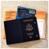 アメリカの古いパスポートと出生証明書(Birth Certificate)の原本が届きました。