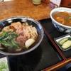 老舗の麺類食堂で食べるカレー丼 @名古屋 角丸うどん
