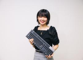 疲れないキーボードを知りたい。タイピング早打ち日本一の「女王」miriさんに聞いてみた