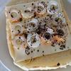 「チーズとちくわとゆかりのトースト」レシピ