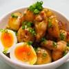 【レシピ】鶏もも肉とじゃがいもの♬コンソメバター炒め♬