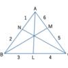 メネラウス・チェバの定理から液体窒素が存在することがわかる???