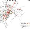 空想鉄道で東京のJR中央線バイパス路線として東八道路に地下鉄を通してみた、楽しい。