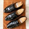 本格英国靴ロイドフットウェアを並べて撮ってみた
