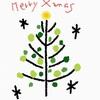 1分で描けるシンプルクリスマスカード