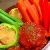 テンジャントマトデミde韓国風味噌煮込ハンバーグ