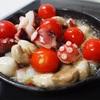 【レシピ】タコとマッシュルームのアヒージョ