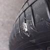 トヨタC-HR ピンチカットに見舞われたタイヤの状態は