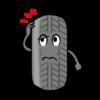 自動車 タイヤのひび割れは何が原因?