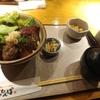 大手町・神田【どったんば】牛はらみステーキ丼 ¥800