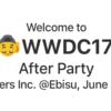 WWDC After Party 2017 @Ebisuを開催しました #wwdc_ebisu