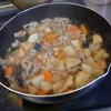 幸運な病のレシピ( 1628 )昼:煮しめ、後に、トンカツ、レンコン天ぷら、シュウマイ