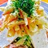 パリッと油揚げの豆腐サラダ