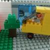ダイヤブロックで台湾のゴミ収集車を作ったよ!