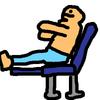 【スツールのすすめ】足を水平にして座るとすると楽な話