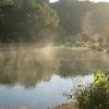 池が燃えている!