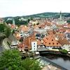 ハンガリー&チェコ旅「世界一美しい街 チェスキークルムロフへの日帰り旅」