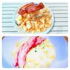 「食戟のソーマ」料理再現集。(りんごのリゾット・化けるふりかけご飯・スフレオムレツ・鯖缶バーグ・シャリアピンステーキ丼・ロティ丼・なんちゃってローストポーク)