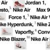 【速報】Nike × Off-white 全10種類のモデルが発売へ