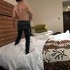暑い館内、外は雪、ANAクラウンプラザホテル千歳