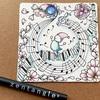 【Zentangle】To You Tangle #4:音楽