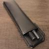 キングジムのはさめるペンケース「ペンサム」で無印良品の吊るせるポーチにペンを安定して挿す