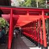 三光稲荷神社 (犬山市)⛩⛩真っ赤な鳥居が綺麗⛩⛩