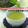 【インフルエンザ】日本人の味方。緑茶がインフルエンザの予防に!豊富なカテキンは食中毒にも効果的