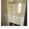 玄関横の靴箱の目隠しを千円以内で自作しました