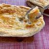 クイックレシピ☆とろりチーズのチキンポットパイ