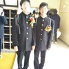 二男の卒業式