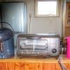 電気ポットとオーブントースター