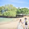 【挙式レポ】ハワイのビーチ撮影