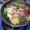 暑くても 鍋が食べたくて  Hàng Buồm通りは、鍋・焼肉通りです