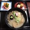 金沢市兼六町 兼六園の「兼六亭」でじぶそば定食など