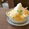 隠れ家カフェ「ラコッペ」の夏季限定かき氷!コンポート&ジュレたっぷりで大満足