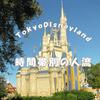 東京ディズニーランド時間帯別の混雑エリア
