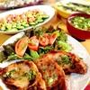 豚ロース酒粕味噌漬け&きゅうりと桜海老のアボカドサラダ。もずくスープ