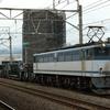 シキ1000形の返却列車を撮る 貨物列車撮影 6/28