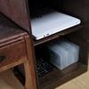 おちゃめな古道具~倹飩(けんどん)箱でパソコン機器をスッキリ収納