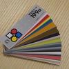 配色カード。