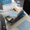 本の清掃作業