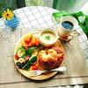 【週末ブランチ】熱々クラムチャウダーとクロワッサンでカフェ風ブランチ